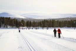 Ylläksen latuverkosto houkuttaa hiihtämään! Majoitu hotelli KuerHotellissa Ylläksen latuverkoston äärellä.