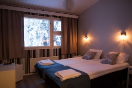 Accommodate at Kuerhotel at Ylläs
