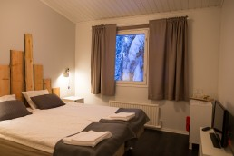 Kuerkievari offers cousy accommodation and home made food at Ylläs