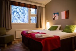 Kuerkievari - cosy and peaceful accommodation either at hotel or hostel at Ylläs!