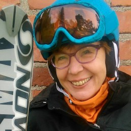 Marikki Lepaus, the matron of Kuerkievari, welcomes you to Ylläs!