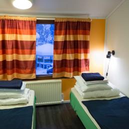 Kuerkievarin hostelli tarjoaa rauhallista majoitusta Ylläksellä, Äkäslompolossa.