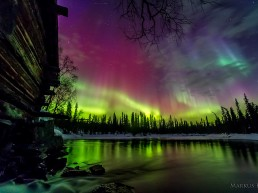 Northern LIghts over Ylläs - By staying at Kuerkievari Hotel or Hostel you can experience them yourself!