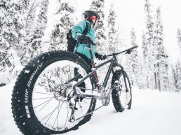 Let your adventure begin! Rent a fatbike and hit the fell from our doorstep!