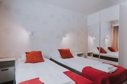 Ylläksen uusimman hotellin kauniit huoneet