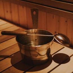 Viehättävät saunat KuerHotellissa